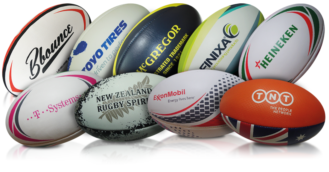 Business balls - Rugbyballs